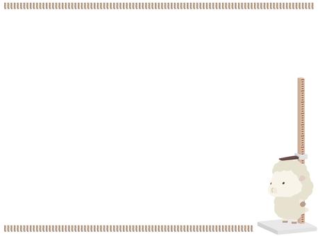 高度測量_sheep_white_frame