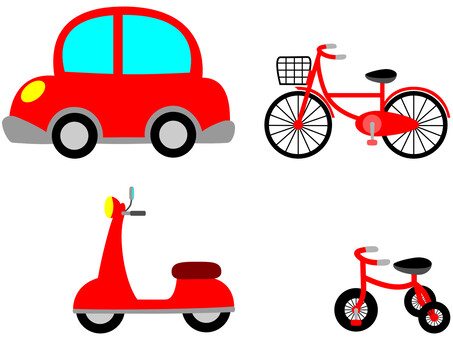 Vehicle Red
