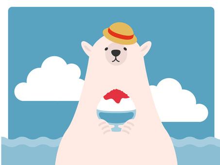 北極熊刨冰