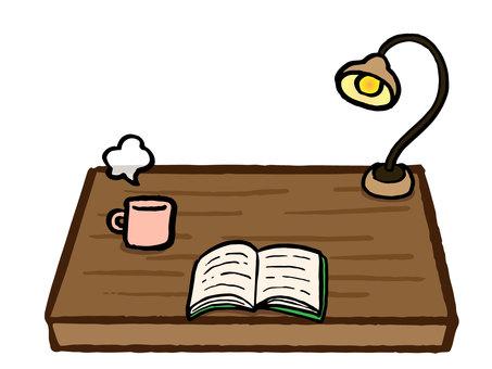 コーヒーと読書の時間