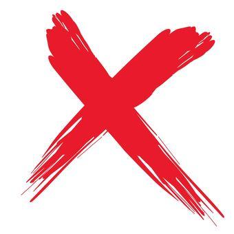 刷_十字標記_紅色