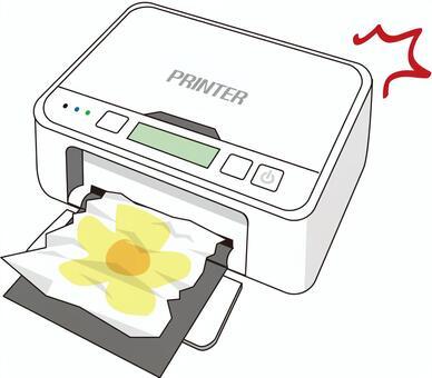 打印機起皺