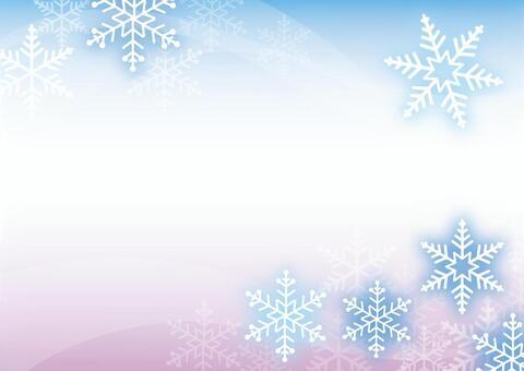 冬 背景 雪