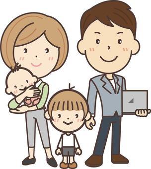 自由職業家庭的全貌