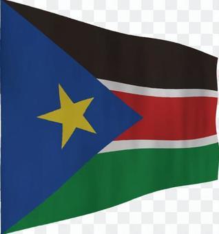 南蘇丹的旗幟