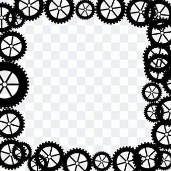 齒輪機圖案訂婚發明旋轉