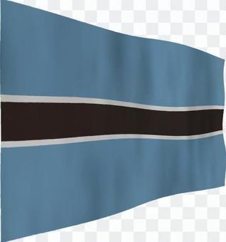博茨瓦納的旗幟