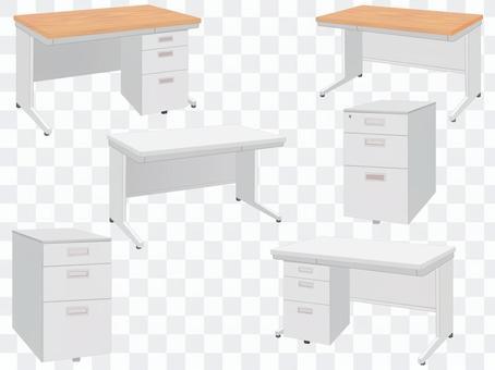辦公家具辦公桌和辦公桌車