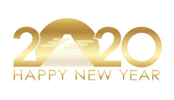 2020年新年賀卡材料