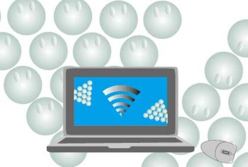 Internet business image illustration