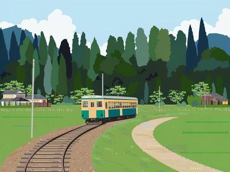 田園風光列車