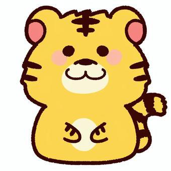 かわいいトラ