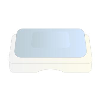 Bar soap (blue)
