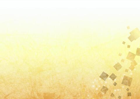 Gold foil wind background