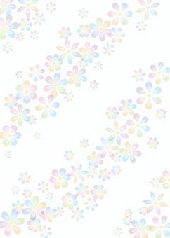 Flowers, background, A4 縦, Tu full pay