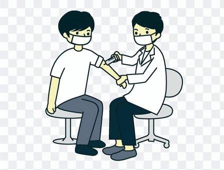 疫苗接種_男性