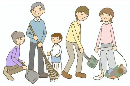 Self-governing body cleaning