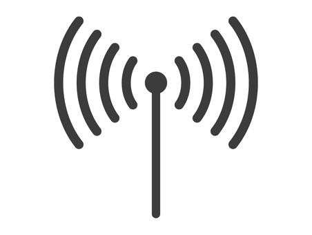 無線電波圖標