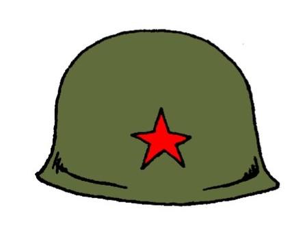 老日本軍隊頭盔