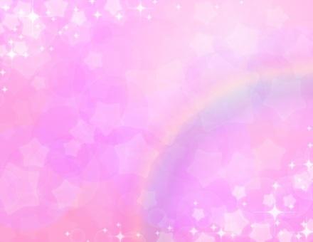 夢可愛_粉紅_星彩虹