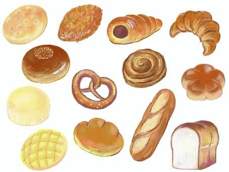 麵包插圖素材集(真實)