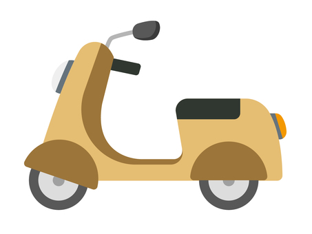 Scooter (yellow)