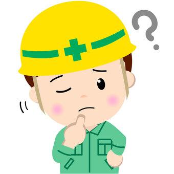 Construction worker _ upper body (Hatena)