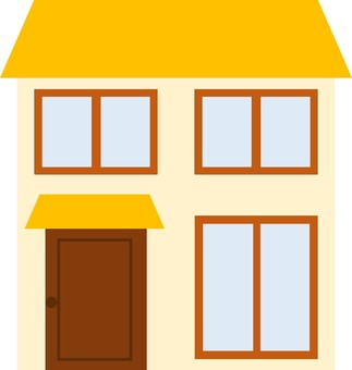 Two story house ①