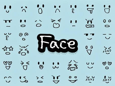 表情符號/面部表情集