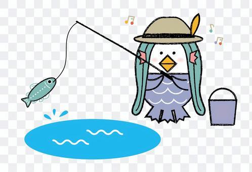 Amabie_fishing