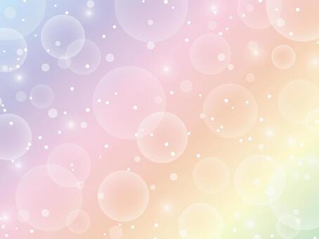 Rainbow glitter background material