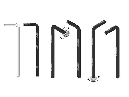 工具(六角レンチ)