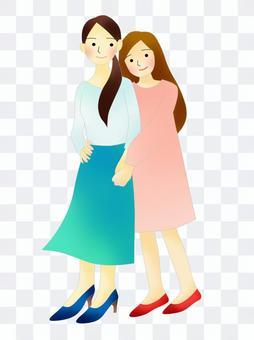 LGBT、女性夫婦