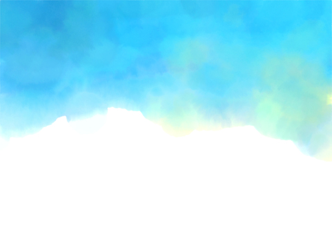 水彩天空背景圖