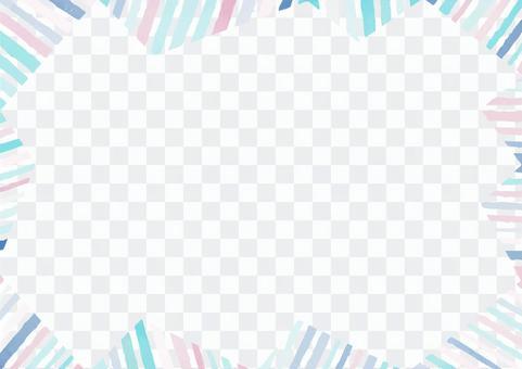 流行裝飾框架8,可用於廣告活動等。