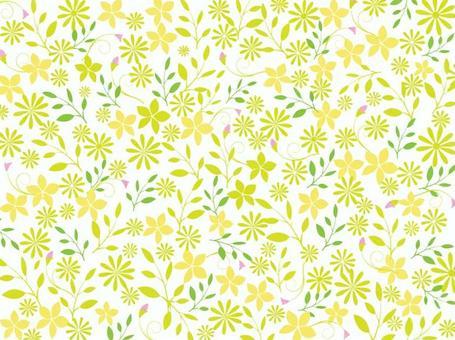 Floral pattern-simple 3 colors