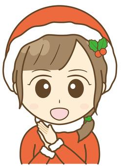 Santa costume scolds