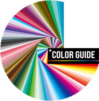 顏色樣本書 顏色指南
