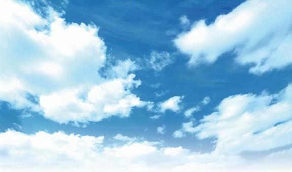 天空和雲彩01