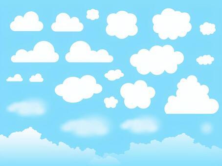 もくもく雲いろいろセット