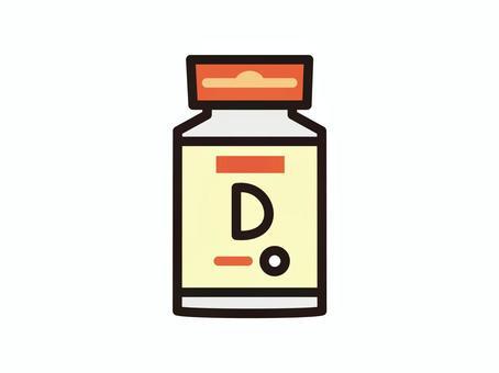補充維生素D.
