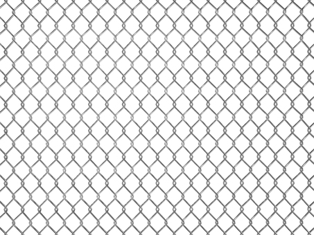 Illustration of fence, wire mesh