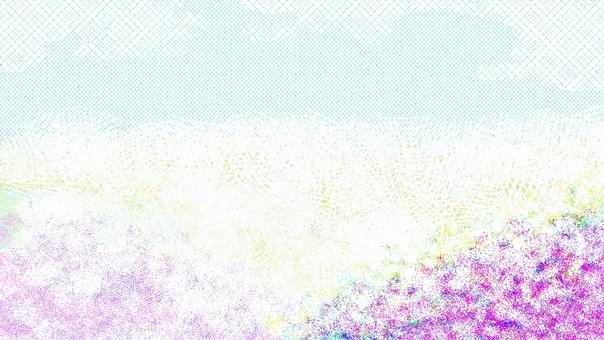 花場抽象背景