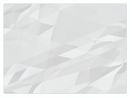 弄皺的紙透明PNG 4:3
