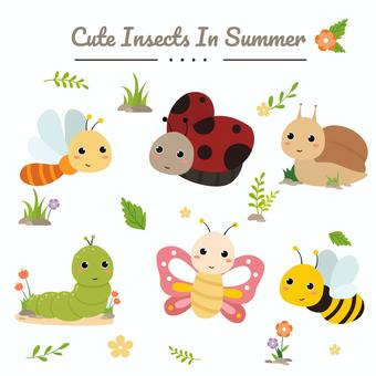 可愛的昆蟲集