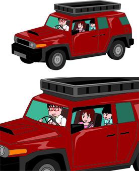 汽車 私家車 私家車 越野郊遊
