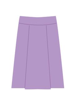 裙(紫色)