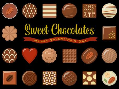 Chocolate set - 01