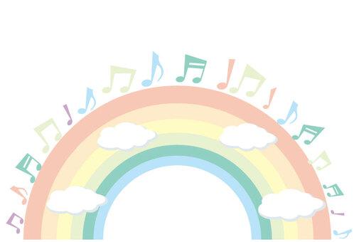 註釋和彩虹標題