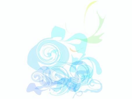 淺藍色漩渦